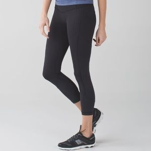 "Lululemon All the Right Places Crop Leggings 23"" 8"